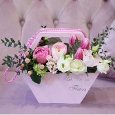 Сумочка с весенними цветами