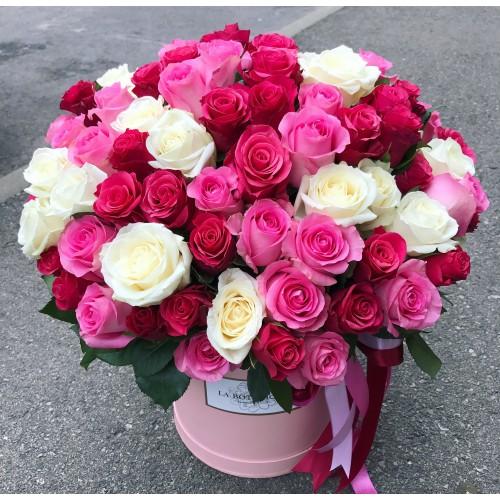 101 rozes kastītē